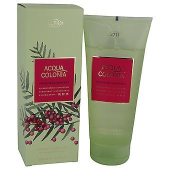 4711 Acqua Colonia Pink Pepper & Grapefruit by 4711 Shower Gel 6.8 oz