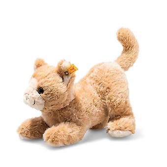 Steiff Soft Cuddly Friends Cassie Cat Reddish Plush