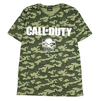 Call Of Duty Womens/Ladies Camo Boyfriend T-Shirt