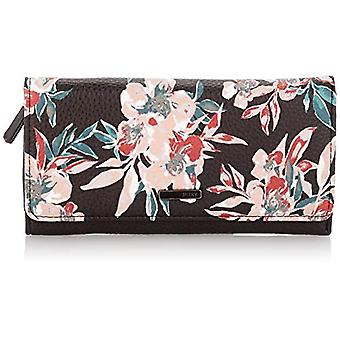Roxy Hazy Daze, Dames portemonnees, Antraciet Wonder Garden S, Medium