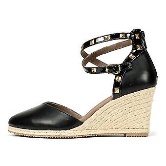 Rialto Womens Campari Closed Toe Casual Platform Sandals