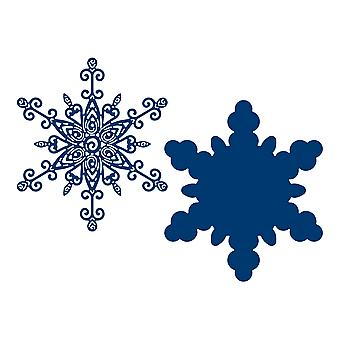Tattered Lace Quilled Snowflake Die Set
