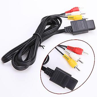 Av Audio Video, Tv Cable Cord, Rca For Nintendo,  Game Cube