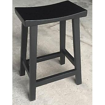 American Style Solid Wood High Stool