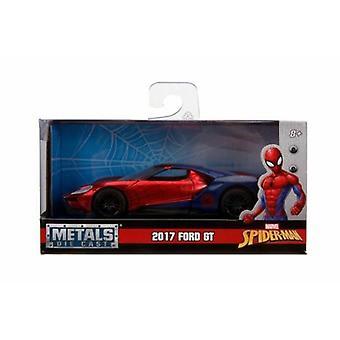 Marvel Spider-Man 2017 Ford GT 1:32 Escala Jada 30291