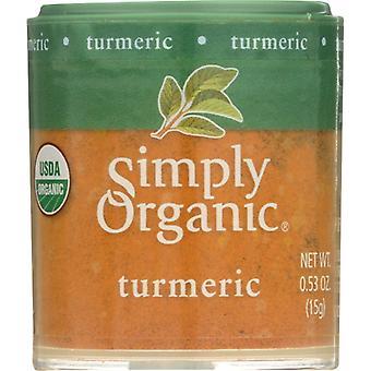 Simply Organic Mini Turmeric Grnd Org, Case of 6 X 0.53 Oz
