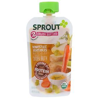 Sprout Baby Stg2 Veg Birne Chkn B, Fall von 12 X 3,5 Oz
