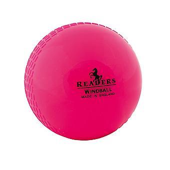 Readers Windball Training Youths Cricket Ball - Pink