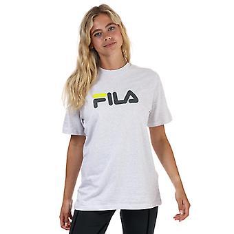 Naisten Fila Eagle Graafinen T-paita harmaana