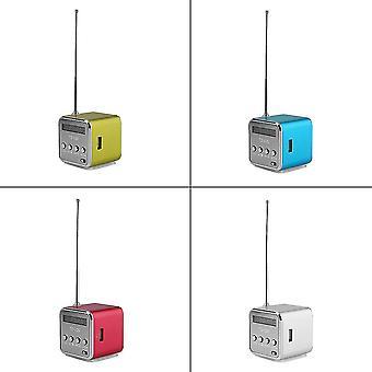 Přenosný Micro Usb Mini Stereo Super Bass Reproduktor Hudba Mp3 /4 Fm Rádio