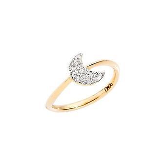 Dodo dac0006hearsdb0og5 med diamanter ring