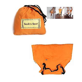 Extra Large Booster Chair Cover,dining Chair Seat Protector Cover For Booster Seat(ORANGE)
