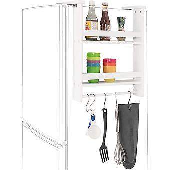 SoBuy Kitchen Spice Holder Rack, Blanco, RFA149-W