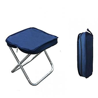 Outdoor Folding Chair For Camping,oxford Cloth With Carry Bag(Blue)