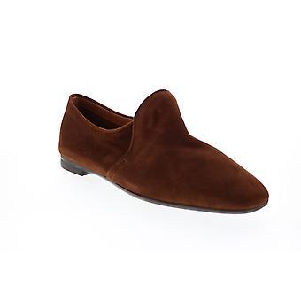 Aquatalia Adult Womens Revy Dress Suede Loafer Flats