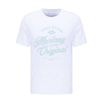 Mustang Shoes Alex C Print 10090392045 universal all year men t-shirt