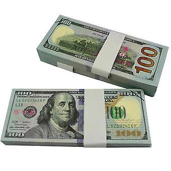 لعب المال -- 100 دولار (100 ملاحظات)