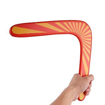 اللياقة البدنية الملحقات ألعاب boomerang تحلق الخشب كثافة عالية الخامس على شكل رمي الصيد لعبتها