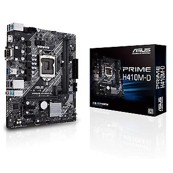 Asus PRIME H410M-D, Intel H410, 1200, Micro ATX, 2 DDR4, VGA, HDMI, Puerto COM, M.2