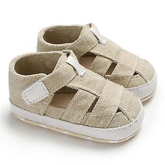 أزياء الصيف بيبي الصنادل طفل رضيع جوفاء لينة سرير أحذية قماش الوحيد