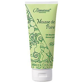 Bionatural - Mousse De Poire (shower Gel)    (escapade Au Verger)