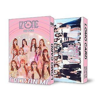 Lomo Card Seventeen Red Velvet Nct Monsta X Album Poster Hd Photocard