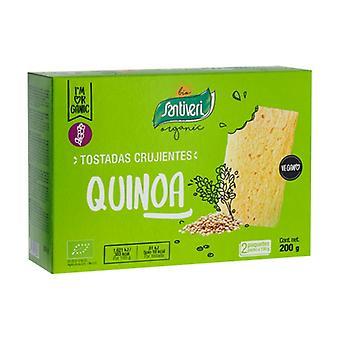 Kvinoa Kevyt Paahtoleipää Bio 200 g
