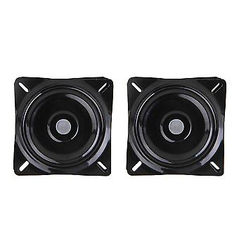 Turntable accessories 2x swivel plate bar stool replacement seat turntable steel plate 6inch ppm-2694