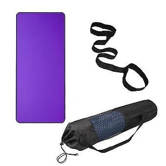 Yoga pilates mats homemiyn thicken yoga mat slimming exercise soft portable yoga mat non-slip