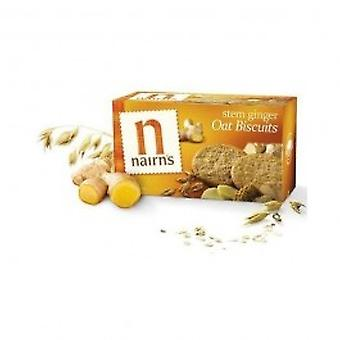 Nairns - Stem Ginger Wheat Free Biscuit 200g