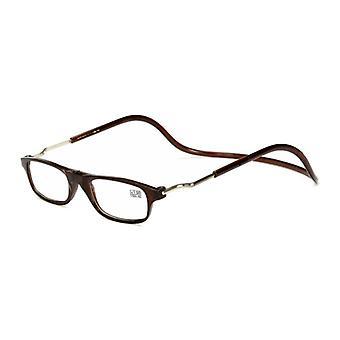 Les lunettes de lecture magnétiques peuvent accrocher les lunettes de lecture du cou