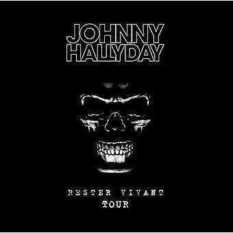 Johnny Hallyday - Rester Vivant Tour [Blu-ray] USA import