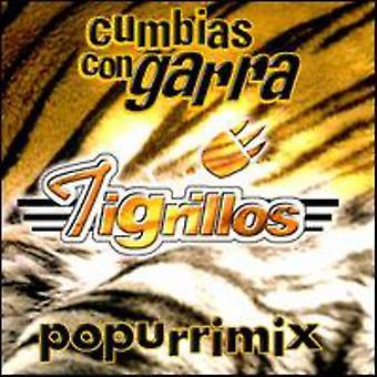 Los Tigrillos - Cumbias Con Garra Popurrimix [CD] USA import