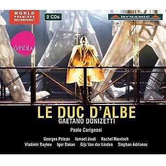 G. Donizetti - Gaetano Donizetti: Le Duc D'Albe [CD] USA import