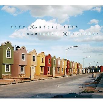 Nick Sanders Trio - Nameless Neighbors [CD] USA import