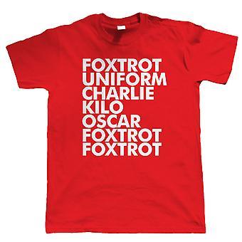 Foxtrot, Mens T Shirt