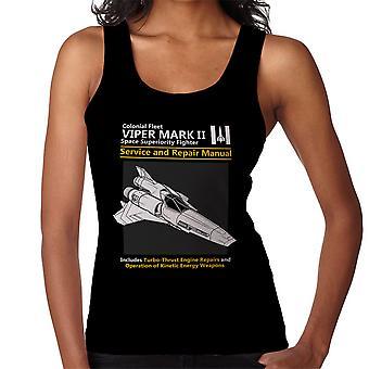 Battlestar Galactica Viper Service en reparatie handleiding vrouwen Vest