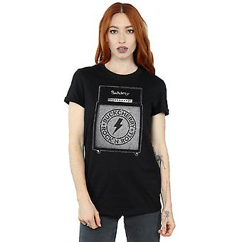 Buckcherry Women's Rock And Roll Amplifier Boyfriend Fit T-Shirt