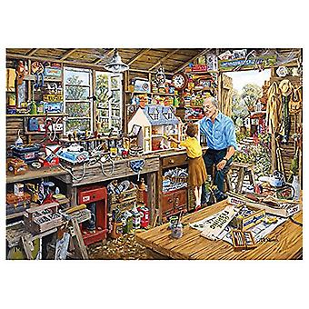 Atelier Jigsaw Puzzle Gibsons papy (1000 Pièces)