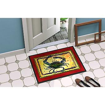 Carolines Treasures  8058-MAT Crab  Indoor or Outdoor Mat 18x27 8058 Doormat