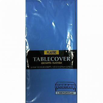 Amscan Plastic Rectangular Solid Colour Party Tablecover