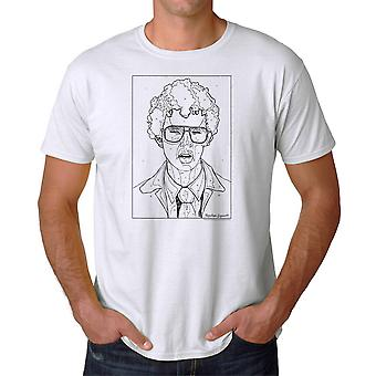 Napoleon Dynamite By The Numbers Men's White Funny T-shirt