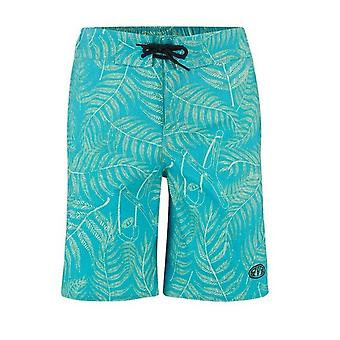 Animal Lagoona Kids Board Shorts - Bluebird