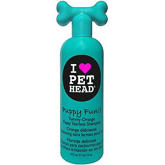Pet Head Dog Puppy Fun Tearless Shampoo 475ml