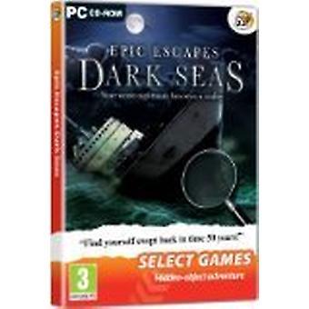 Välj spel-Epic Escapes Dark Seas (PC DVD)-ny