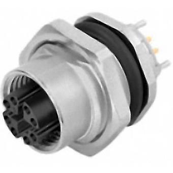 Binder 09 3782 91 08 anturi/toimi laite sisäänrakennettu liitin M12-pistoke, sisäänrakennettu No. nastojen (RJ): 8 1 kpl (s)