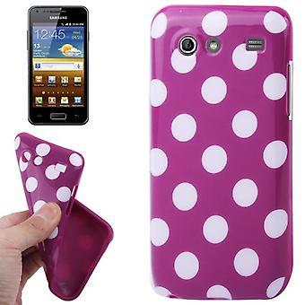 Beschermhoes voor mobiele Samsung Galaxy S advance i9070 paars