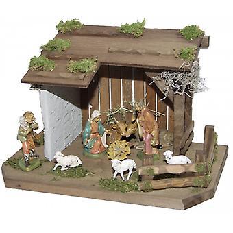 Crib SAO wooden crib Nativity Christmas Nativity stable