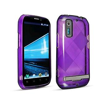 5 pack - Technocel Slider Skin Hoes voor Motorola Photon 4G - paars