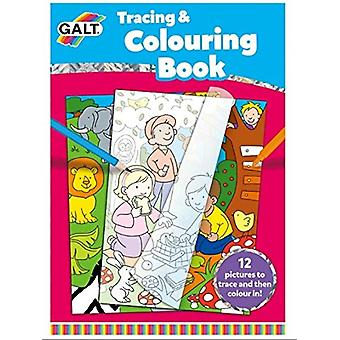 Galt, tracciatura e Colouring Book